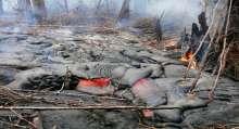 زحف الحمم البركانية