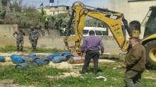 إتلاف اسطوانات غاز غير مطابقة للمواصفات في محافظة قلقيلية