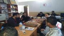 حركة فتح في منطقة الشهيد يوسف عتال في حبلة تنظم يوم طبي مجاني للعيون