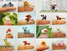بالصور: أصغر حيوانات في العالم حيكت من الكروشيه