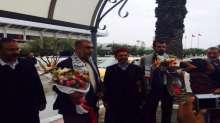 وفد الحركة الإسلامية في الداخل يشارك بفعاليات يوم الأرض في تونس
