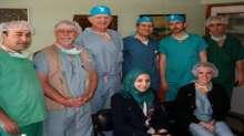 وفد طبي أمريكي متخصص ينهي زيارة لمجمع فلسطين الطبي
