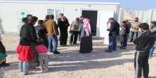 """الحملة الوطنية السعودية تستبدل خيام الزعتري بالوحدات السكنية الجاهزة ضمن برنامج """"شقيقي بيتك عامر"""""""