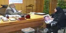 محافظ الاسماعيلية يستقبل والدة الشهيد اسلام جمال الصادق شهيد أحداث ما بعد ثورة 25 يناير