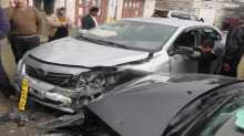 اصابة بليغة في حادث سير في جنين