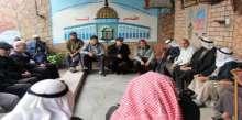 وفد مشترك من جمعية إصلاح ذات البين الخيرية ودائرة إصلاح منطقة الزيتون والصبرة ينظم زيارة لعائلة طافش
