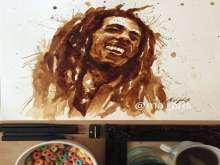 الرسم بالقهوة