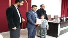 الجامعة العربية الامريكية تكرم 70 طالبا وطالبة شاركوا في مسابقة لحفظ القران الكريم
