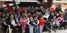 مخيم الرشيدية يحي مناسبات اجتماعية عبر نشاط بعنوان الارض تجمعنا و الام تحضننا و الطفل مستقبلنا