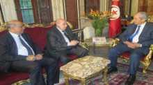 قدم له واجب العزاء بعد حادث متحف باردو..الزعنون يلتقي رئيس مجلس النواب التونسي