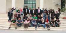جامعة الاستقلال تستقبل وفداً من كلية الأعلام في جامعة النجاح الوطنية