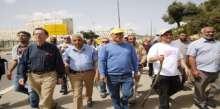 ايمن عودة يسلم مكتب رئيس الدولة مخطط الاعتراف بالقرى العربية في النقب