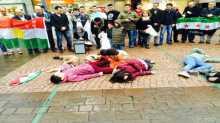 اعتصام في مدينة زيورخ السويسرية يطالب بانهاء حالة الحرب في سوريا