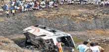 مقتل 11 شخصًا وإصابة 26 آخرين في حادث انقلاب حافلة شرق الهند