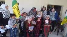 مدرسة الفرقان الاسلامية و نادي الاسير ينظمان زيارة الى اسرة الشهيد سمرات و الاسير أبو خرابيش