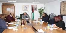 وزارة شؤون المرأة تبحث آليات التعاون مع مؤسسة دالية
