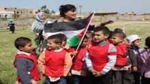 احياء يوم الارض في الرشيدية  بجنوب لبنان تحت عنوان الأرض تجمعنا والأم تحضننا والطفل مستقبلنا