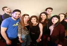 شاهد بالصور : حفل صاخب للفنان المغربي سعد لمجرد في فندق برام الله