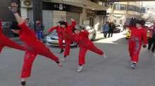 شاهد الصور.. رقص مُعاصر في شوارع رام الله