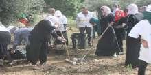 الاغاثة الزراعية تنظم يوما تطوعيا لزراعة الاشجار في رام الله
