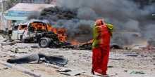مقتل 3 وإصابة 6آخرين بانفجار سيارة مفخخة في مقديشو