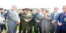 قائد الارتباط العسكري ينفذ زيارة للإطّلاع على أراضي خضوري المصادرة