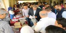 افتتاح بازار وافلام حقوق الانسان في جامعة القدس