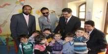 رئيس الحملة الوطنية السعودية لنصرة سوريا يضطلع على أوضاع اللاجئين السوريين في المخيمات