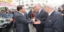 رئيس بلدية الخليل يستقبل اللواء الرجوب وضيف فلسطين الشيخ عبد الله بن محمد أل ثاني