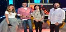 بالصور: ايهاب توفيق وسيمون والشاعري ضيوف رزان مغربي في الحياة حلوة الخميس المقبل