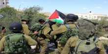 بالصور... قوات الاحتلال تقمع مسيرة المعصرة