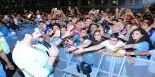 """وليد الشامي لجمهور البحرين: """"أحبكم كلش"""" في حفل الفورميلا 1"""