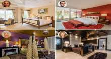 بالصور: غرف نوم الضيوف في منازل المشاهير