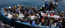 البحرية الإيطالية تنقذ 274 مهاجرا قرب ليبيا