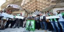 الكتلة الإسلامية تنظم وقفة طلابية استنكاراً للاعتقالات السياسية