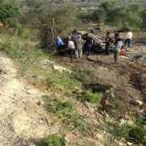 إصابة نتيجة حادث سير إنقلاب مركبة شرق طولكرم