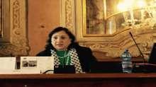د.مي كيله تحاضر في جامعه فينيتسيا  حول اثار الاحتلال الاسرائيلي على الحياه للمرأة والطفل االفلسطيني