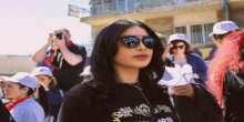 بالصور و الفيديو .. ماريا تشارك فى مسيره حاشده ببيروت فى ذكرى مرور مائه عام على مذبحه الأرمن