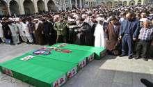 بالصور ..مقتل العشرات من المقاتلين الإيرانيين في درعا بسوريا