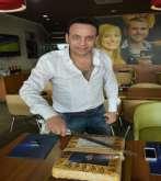 """بالصور ... مصطفى قمر يتعاقد مع شركه """"بولاريس"""" و يحتفل بأغنيه """" انتى الى أخترتي """""""