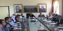 المجلس التنفيذي يعقد اجتماعه الدوري في محافظة سلفيت