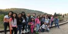 مرشدات مجموعة السالزيان السادسة تقيم رحلة خلوية