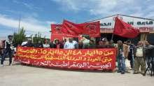 الديمقراطية تفننح فعالياتها الوطنية بذكرى يوم النكبة بمسيرة عند الحدود اللبنانية - الفلسطينية