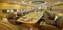 ديلي ميل البريطانية تنشر صور لطائرة الوليد بن طلال من الداخل