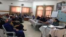 الشؤون الاجتماعية تعقد ورشة عمل عن الوقاية من المخدرات في بلدية الظاهرية