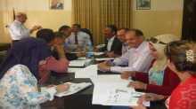 اللجنة الإقليمية للتخطيط والبناء في محافظة جنين تعقد جلستها رقم 14/2015
