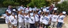 أريحا: الشرطة وجمعية الإسراء الخيرية ينظمان برنامجاً للتوعية لرياض الأطفال