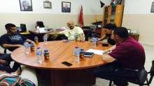 مؤسسة شباب البيرة تعقد جلسة إعلامية خاصة مع وسائل إعلام عالمية