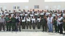 قوات الأمن الوطني الفلسطيني تختتم مخيم التعايش الخاص بجامعة النجاح الوطنية