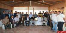 المجلس العام لمواقع عائلات محافظة خانيونس يواصل زيارة  وتكريم الشخصيات المجتمعية ورجال الإصلاح